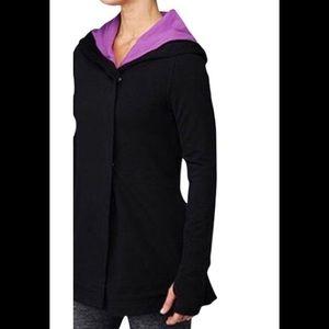 LULULEMON Wrap Awareness Jacket Black Size 4